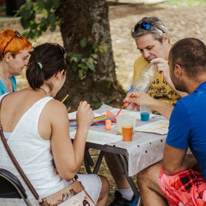 Gusarske počitnic v Vili Čira-čara